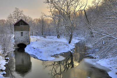 Art Print featuring the photograph The Old Mill by Dan Myers