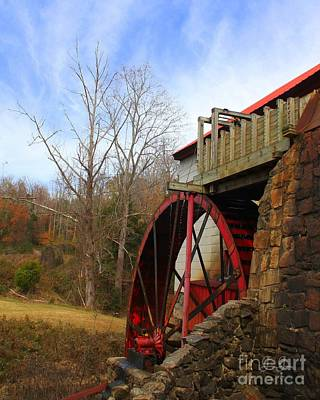 Photograph - The Old Mill by Geri Glavis