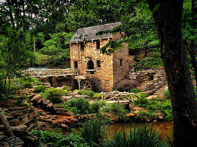Old Mills Photograph - The Old Mill  by Gregory Ballos