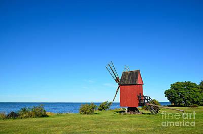 Photograph - The Old Mill by Kennerth and Birgitta Kullman