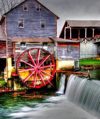 Photograph - The Old Mill by Mark Bowmer