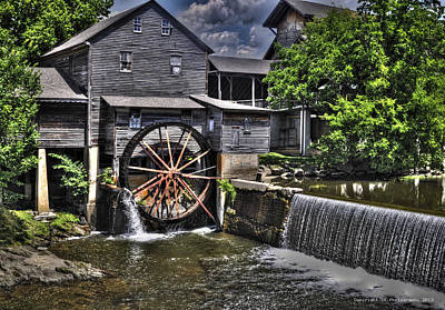 The Old Mill Restaurant Art Print