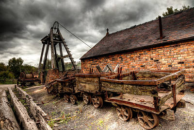 Iron Photograph - The Old Mine by Adrian Evans