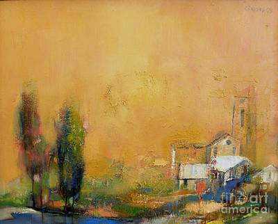 Nature Painting - The Old Mission by Grigor Malinov