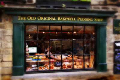 Photograph - The Old Original Bakewell Pudding Shop by Doc Braham