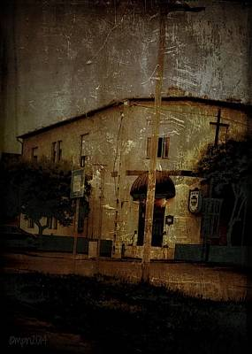 Small Town Life Photograph - The Old Pharmacy by Mimulux patricia no No