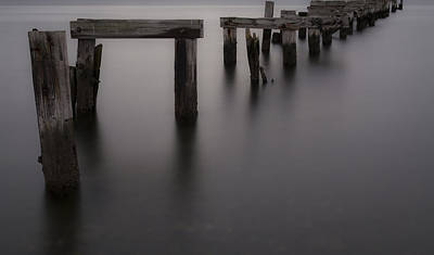 Photograph - The Old Pier by Andrew Pacheco