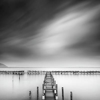 Pier Wall Art - Photograph - The Old Pier by George Digalakis