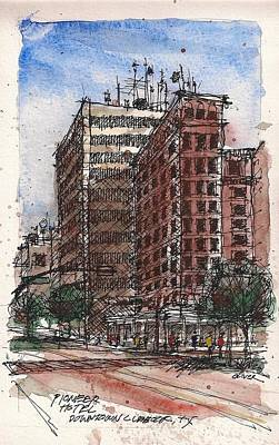 The Old Pioneer Hotel Art Print by Tim Oliver