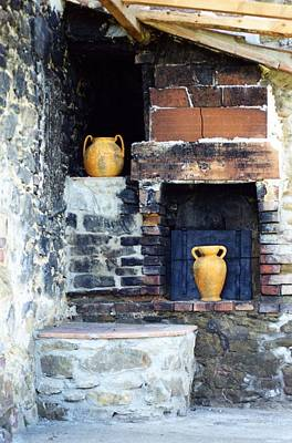 Photograph - The Old Pizza Oven by Dorothy Berry-Lound