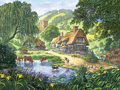 The Old Pond Art Print