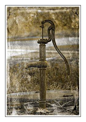 The Old Pump Art Print