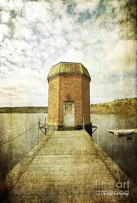 Photograph - The Old Pump Station by Randi Grace Nilsberg