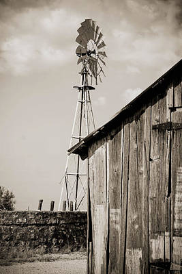 The Old Ranch Art Print