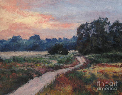 Painting - The Old Road At Sunset by Gregory Arnett