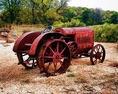 Photograph - The Old Rust Bucket by William Havle
