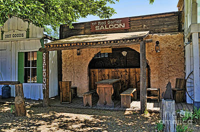 Photograph - The Old Saloon by Brenda Kean