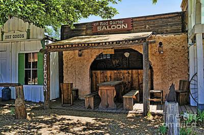 Word Signs - The Old Saloon by Brenda Kean