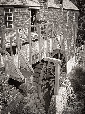 Sawmill Photograph - The Old Saw Mill by Edward Fielding