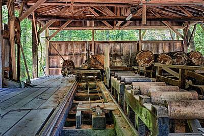 The Old Sawmill Art Print