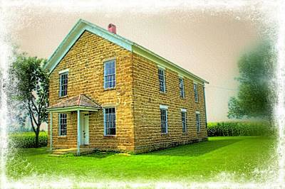 Photograph - The Old Schoolhouse by Bonfire Photography
