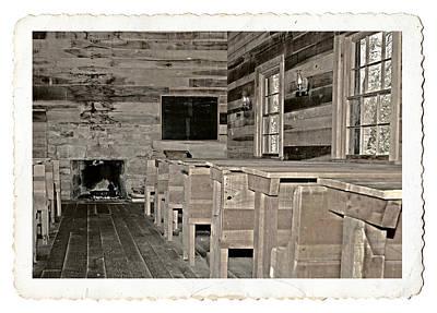 The Old Schoolhouse Art Print by Susan Leggett