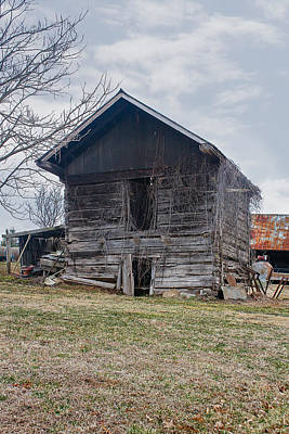 Photograph - The Old Smokehouse by Robert Hebert