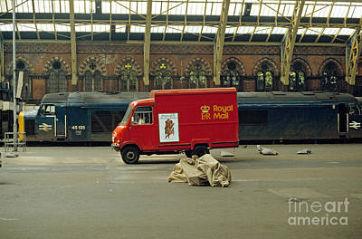 Photograph - The Old St. Pancras Station by David Davies