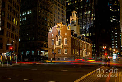 The Old State House Art Print by Sabine Edrissi