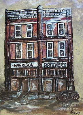Downtown Huntsville Painting - The Old Store by Eloise Schneider