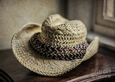 Photograph - The Old Straw Hat by Terry Rowe