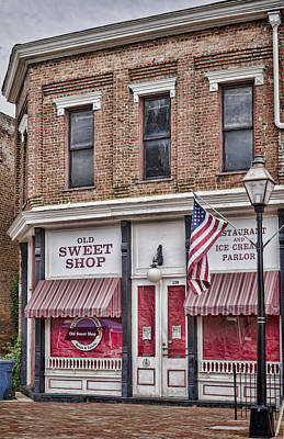 Photograph - The Old Sweet Shop by Heather Applegate