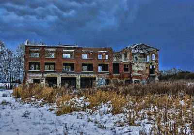 Derilict Buildings Photograph - The Old Tannery by Trevor Kersley
