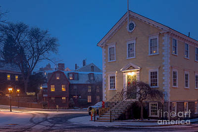 Photograph - The Old Town House by Susan Cole Kelly