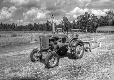 Photograph - The Old Tractor by Kathy Baccari