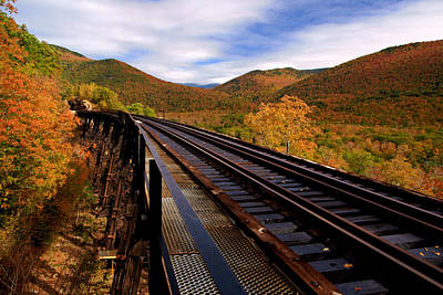 Photograph - The Old Trestle by Daniel Woodrum