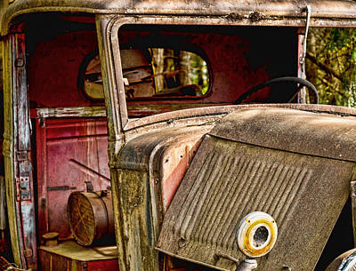 Photograph - The Old Truck by Ron Roberts