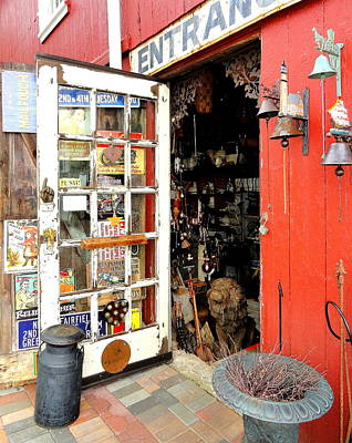 Photograph - The Old Village Store by Mary Beth Landis