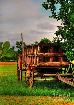 Photograph - The Old Wagon by Kathy Baccari
