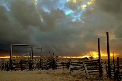 Photograph - The Old West by Jeanne  Bencich-Nations