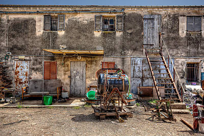 Photograph - The Old Workshop by Uri Baruch