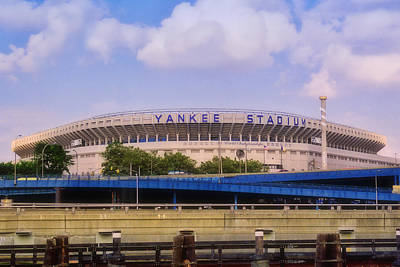 Photograph - The Old Yankee Stadium by Joann Vitali