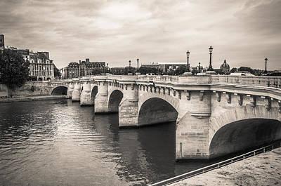 The Oldest Bridge Of Paris Original