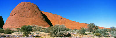 Uluru Photograph - The Olgas, Australia by Panoramic Images