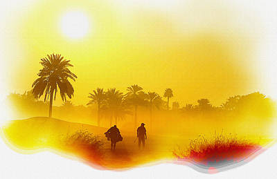 Ernie Els Wall Art - Digital Art - The Omega Dubai Desert Classic by Don Kuing