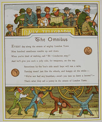 The Omnibus Art Print by British Library