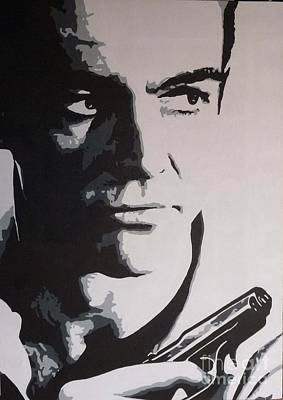 Sean Connery Painting - The One And Only by ID Goodall