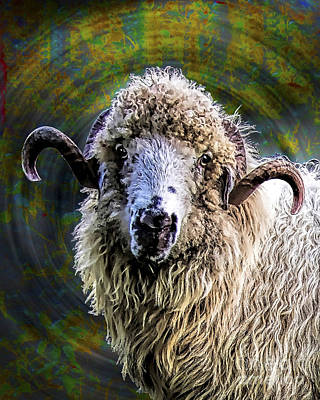 Ovine Painting - The One by GabeZ Art