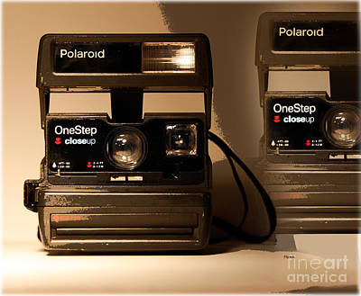 Vintage Cameras Photograph - The One Step  by Steven Digman