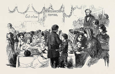The One Tun Ragged Schools Westminster Tea Meeting Art Print
